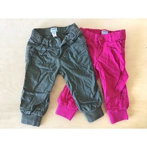 Two Lined Toddler Joggers